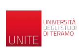 Universitá degli studi diTeramo | Italy